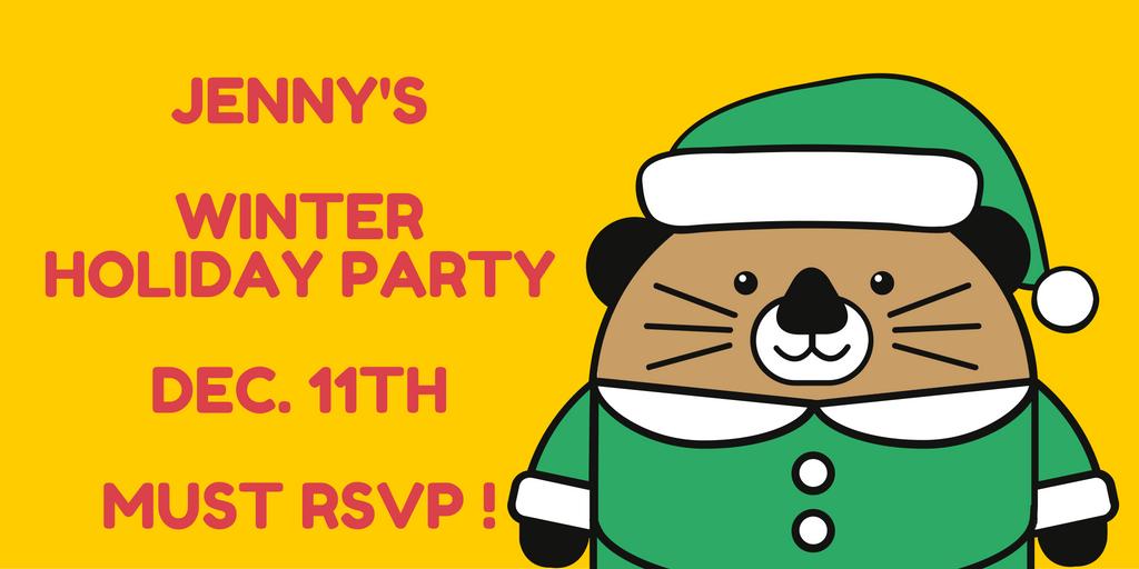 Jenny's Clinic Winter Holiday Party